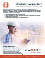 Aware4Duty brochure